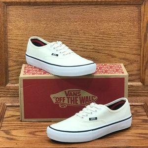 Vans Authentic Pro White White Shoes Size Men 6.5
